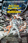 Moonraker - 1979 - Movie Poster £24.95 GBP on eBay
