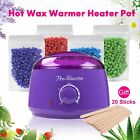 Salon Spa Hair Removal Hot Wax Warmer Heater Pot Machine Kit + 400g Waxing Beans $17.99 USD on eBay