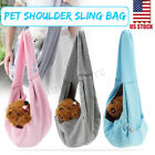 Reversible Pet Dog Puppy Carrier Single Shoulder Sling Bag Tote Travel Handbag