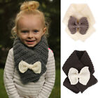 Внешний вид - Children Kid Winter Warm Hooded Scarf Boy Girl Knit Crochet Neck Warmers Scarves