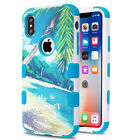 For iPhone XS IMPACT TUFF HYBRID Protector Case Skin Phone Cover Accessory
