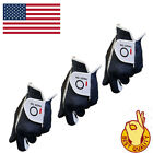 Golf Glove 3 Pack Men's Value Stable Grip Left Right Hand Hot Wet Rain Weather