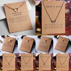 Gold Plated Pearl Bar Dragonfly Butterfly Animal Pendant Necklace Jewelry Gifts