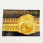 ♛Your Rolex Oyster Booklet Owners Manual English & USA 1990-2008 - Choose Date -