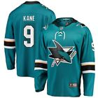 Evander Kane San Jose Sharks Fanatics Branded Breakaway Player Jersey Teal