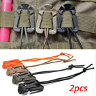 Cord Mini Tools Fixed Hooks Organize Clip Backpack Carabiner Molle Buckle
