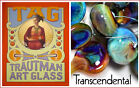 "TRAUTMAN ART GLASS ""Transcendental"" OffShade OddRods, 4/5 oder 5/6mm"