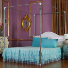 Stainless Steel Mosquito Netting Canopies Bed Frame Twin Full Queen King Size image