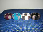 NEW AVON CLEOPATRA STRETCH BRACELET - BLACK, BURGUNDY, TEAL OR WHITE- NEW IN BOX