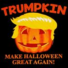 Halloween T Shirt Funny President Trumpkin MAGA Mens Sizes Small to 6XL Tall  image