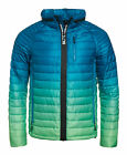 New Mens Superdry Power Fade Jacket Lime