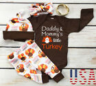Thanksgiving Baby Boy Girl Romper Pants Trousers Set Fall Infant Clothes Outfits