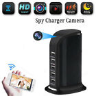 1080P WIFI Hidden IP Camera Socket Spy USB Charger Nanny Cam Home Security DVR