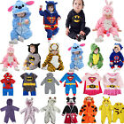 Внешний вид - Toddler Baby Kids Romper Kigurumi Cosplay Costume Bathrobe Bodysuit Pajamas Set