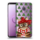 HEAD CASE DESIGNS MEOWY CHRISTMAS HARD BACK CASE FOR SAMSUNG PHONES 1