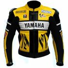 YELLOW Motorbike/Motorcycle Leather Jacket MOTOGP Racing Biker Leather Jacket