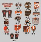 06-00 Cleveland Browns decals Baker Mayfield Beckham JR Jersey Logo vinyl decal on eBay
