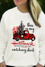 This Is My Hallmark Christmas Movie Watching Shirt White Unisex S-5XL Sweatshirt