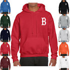 New Boston Red Sox Hoodie Warm Fleece Pullover Sweatshirt Nap Team Uniform 0096 on Ebay