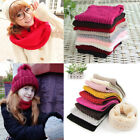 1pc Soft Men Women Scarf Winter Warm Cotton Scarves Knitted Collar Bandanas New