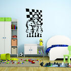 Style and Apply Chess Game Vinyl Wall Decal and Sticker Mural Art Home Decor