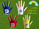 Junior Golf Glove 2 Pack Left Right Hand Kids Boys Girls Youth Fit Hot Wet Rain