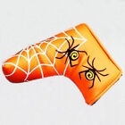 New Spider & Silver Web Golf Putter Cover Headcover PU Leather Golf Accessory