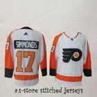 Philadelphia Flyers Hockey Jersey White 17 Wayne Simmonds M 3XL Sewn