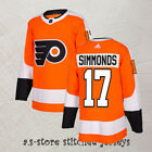 Philadelphia Flyers Orange Stitched Hockey Jersey 17 Wayne Simmonds M 3XL
