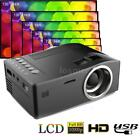 UC18 LCD LED Projector Mini Portable Support 1080P HD Home Theater Cinema X9F5