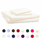 Linens Limited Polycotton Percale 180 Thread Count Housewife Pillow Cases, Pair