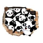 Wall Stickers Panda Cubs Cartoon Kids Cool  Bedroom Girls Boys Living Room G878