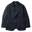 Double Ralph Lauren RRL Mens Japanese Indigo Wool Cotton Sportcoat Blazer Jacket
