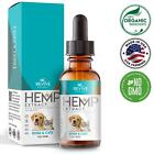 Organic Raw Hemp Oil Extract for Dogs & Cats Relieve Pain & Separation Anxiety