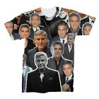 George Clooney Collage T-Shirt