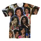 Michelle Obama Collage T-Shirt