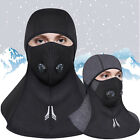 Balaclava Full Face Mask Winter Warm Thermal Ski Motorcycle Cycling Zipper Hat