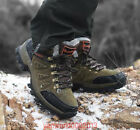 Men's Climbing Casual Winter Outdoor Hiking Lace Up Ankle Snow Boots 39-47 Shoes