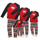 Christmas Family Set Enfants Vêtements de nuit pour adultes Xmas Homewear New