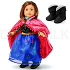 "Fits American Girl 18"" Princess Dress 18 Inch Doll Clothes Costume Outfit"