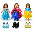 "Внешний вид - For American Girl 18"" Inch Dolls Princess Dress Clothes Outfit Accessories Set"