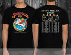 WILLIE NELSON TOUR 2018 Tshirt Black all size