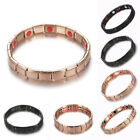 New Men's Stainless Steel Magnetic Therapy Energy Bracelet Health Care Gifts Hot