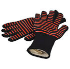 Silicone BBQ Gloves Long Large Heat Resistant Grill Fire Proof Pot Holder Safe