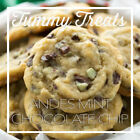 Large Homemade Mint Chocolate Chip Cookies From Scratch