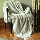 Reversible Throw Blankets For Sofa and Couch Home Decor Throws Travel Blanket
