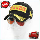 Embroidery Pirelli Racing Hat F1 Sports Moto GP Peaked Baseball Cap Cotton