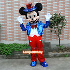 1Pc Mickey & Minnie Mouse Mascot U.S. Flag Costume Christmas Party Cosplay Dress
