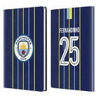 MAN CITY FC 2018/19 PLAYERS AWAY KIT GROUP 2 WHITE GREY LEATHER PASSPORT HOLDER