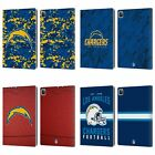 OFFICIAL NFL 2018/19 LOS ANGELES CHARGERS LEATHER BOOK CASE FOR APPLE iPAD